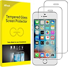 JETech Screen Protector for iPhone SE 5s 5c 5 Tempered Glass Film, 2-Pack