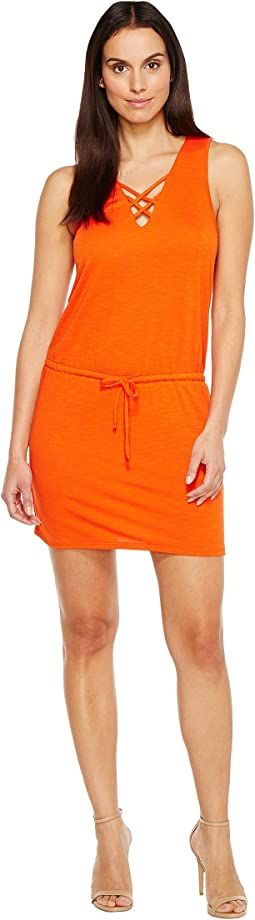 Lanston - Cross Strap Dress