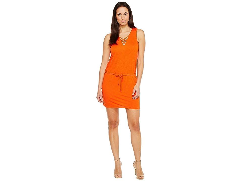 Lanston Cross Strap Dress (Poppy) Women