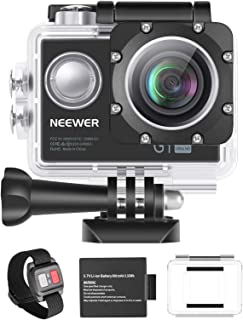 Neewer G1 Ultra HD 4K Action Camera 12MP, 98 ft Underwater Waterproof Camera 170 Degree Wide Angle WiFi Sports Cam High-te...