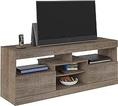Artely Texas TV Table for 60 inch TV, Cinnamon, H 61.5 cm x W 160 cm x D 42.5 cm