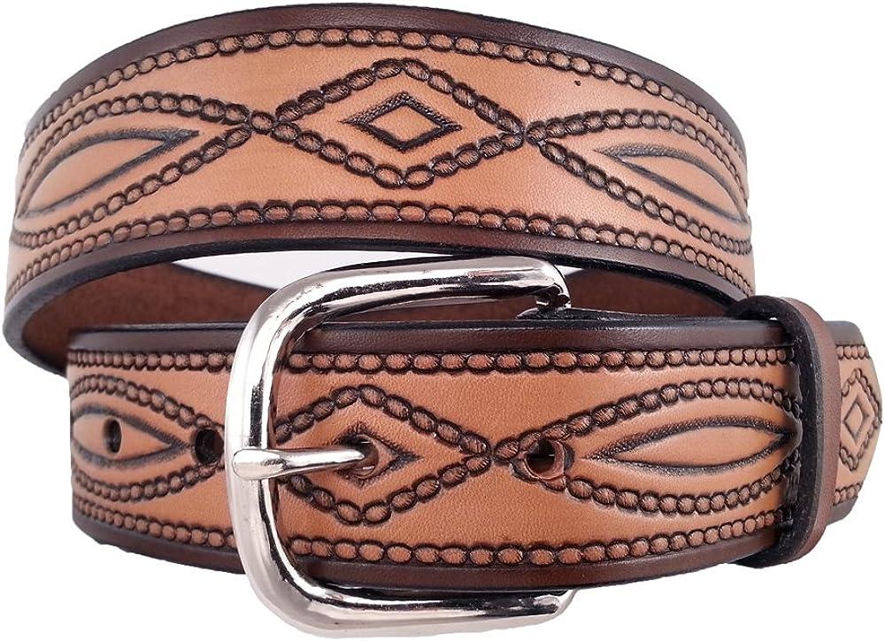 Santa Fe Leather Co. Men's Trust full-grain 670 Bridle belt Sale item