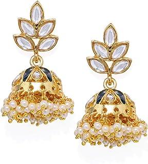 4ee5108f02489 Jhumki Women's Earrings: Buy Jhumki Women's Earrings online at best ...