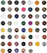 30mm Donut Beads Wholesale Lot Semi-precious Gemstone For Jewelry Making (24)