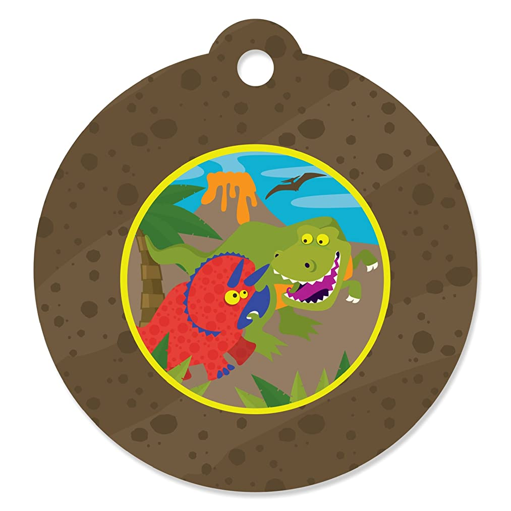 Dinosaur Birthday - Party Favor Gift Tags (Set of 20)