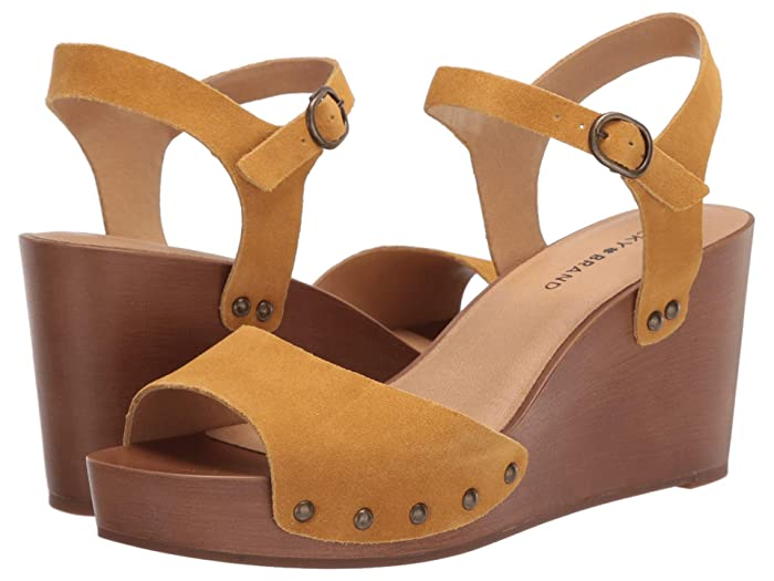 Lucky Brand  Zashti (Golden Yellow) Womens Shoes