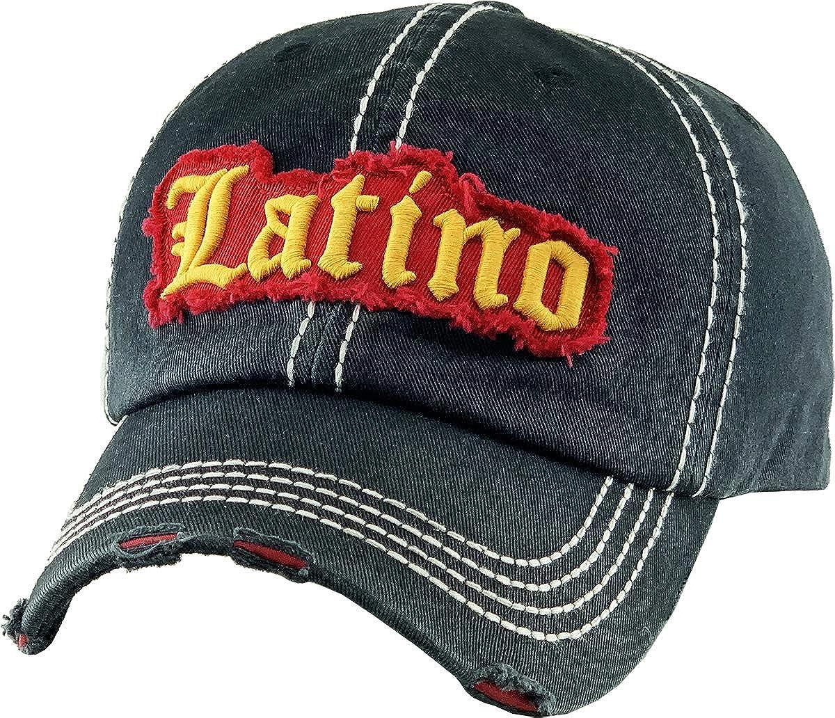 Vintage Hats Distressed Washed Baseball Cap Dad Hat One Size Adjustable Original
