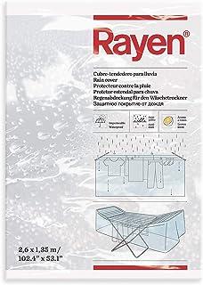Rayen Stendino per Pioggia | Copertura Fodera stendibiancheria Impermeabile Copertina Antipolvere al Profumo di Limone | 2...