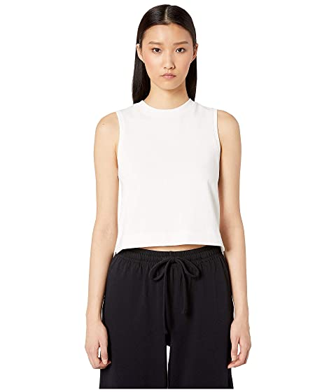 Vince Cropped Shell Tank Top