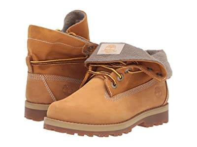 Timberland Kids Courma Roll Top Boot (Little Kid) (Wheat Nubuck) Kid