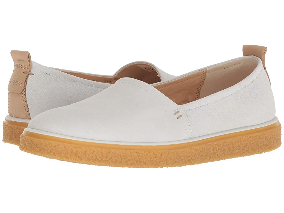 ECCO Crepetray Slip-On (White) Women