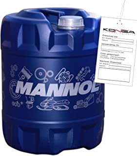 MANNOL Extra transmissieolie 75W-90 API GL 4/GL 5 LS, 20 liter