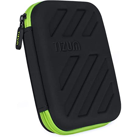 TIZUM External Hard Drive Case for 2.5-Inch Hard Drive (Black)