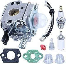 Adefol Carburetor with Fuel Line Kit for Echo SRM2100 GT2000 GT2100 PAS2000 PAS2100 PAS2110 SHC1700 SHC2100 SRM2110 Trimmer Zama Carb