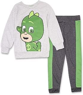 PJ Masks Hoodie Jogger Set - 1 Hoodie & 1 Sweatpants Featuring Catboy, Gekko & Owlett