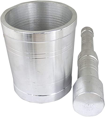Prisha India Craft Kitchen Khalbatta Okhli Masher Mortar and Pestle Set Prime Offer for Today Export Quality Height 3 Inch