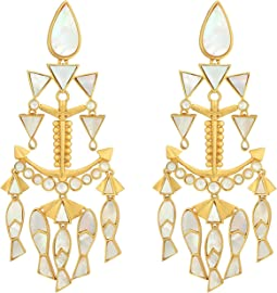 Tory Burch - Fish Statement Earrings