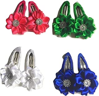 Xldreams Imported 4 pairs(as shown in image) clips for kids Festival/Wedding/Party