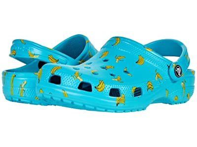 Crocs Kids Classic Food Print Clog (Toddler/Little Kid/Big Kid) Kid