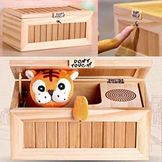 Beautyonline Lovely Tiger Don't Touch Useless Box Leave Me Alone Machine Toys for Best Gifts