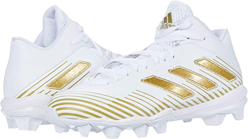 Footwear White/Gold Metallic/Footwear White