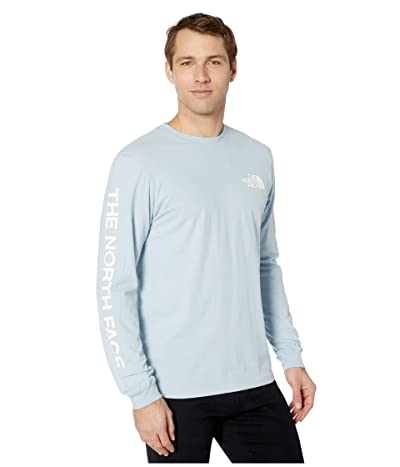 The North Face Long Sleeve TNFtm Sleeve Hit T-Shirt (Faded Blue) Men