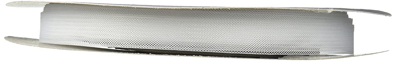 Dritz 789R-12BTY Polyester Horsehair Braid, White, 1/2