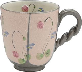 アイトー マグカップ ピンク 7.5cm 京焼 清水焼 加春窯 マグカップ 彩野 CKA741-02