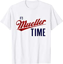 Anti Trump Shirt Company: It's Mueller Time T-Shirt