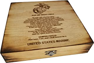 USMC Retirement Keepsake Box -