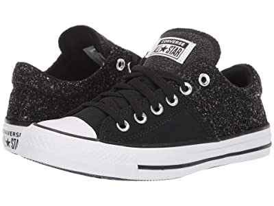 Converse Chuck Taylor All Star Madison Shimmer Canvas Ox (Black/White/Black) Women