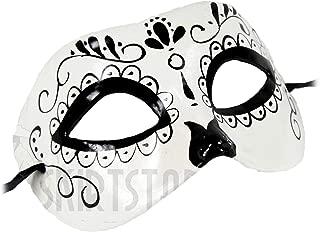 Women's Dia de Los Muertos Day The Dead Sugar Skull Mask