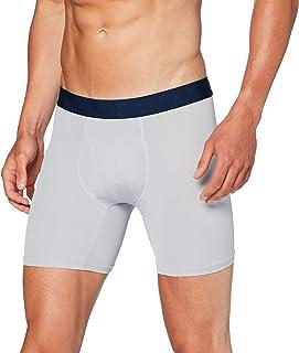 Under Armour 2 Pack Tech Sports Underwear (15 cm), Men's Boxer Briefs Offering Complete Comfort, Fast-Drying Men's Underwear