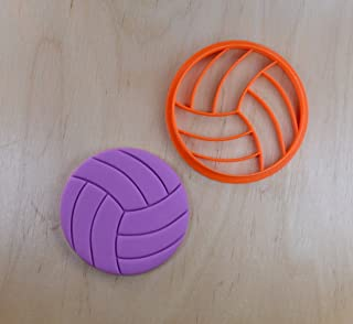 Volleyball Cookie Cutter (3 inches)