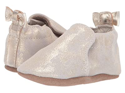 Robeez Pretty Pearl Soft Sole (Infant/Toddler) (Gold) Girl