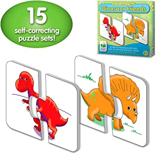 The Learning Journey: My First Match It - Dinosaurs - 15 Self-Correcting Matching Puzzles