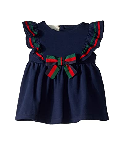 Gucci Kids Bow Dress 544092XJALP (Infant) (Oltremare) Girl