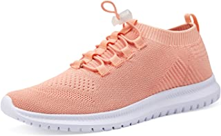 Men and Women Sneakers Lightweight Athletic Casual Walking Shoes Mesh Slip on Shoes