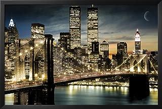 Manhattan Framed Poster 38 x 26in