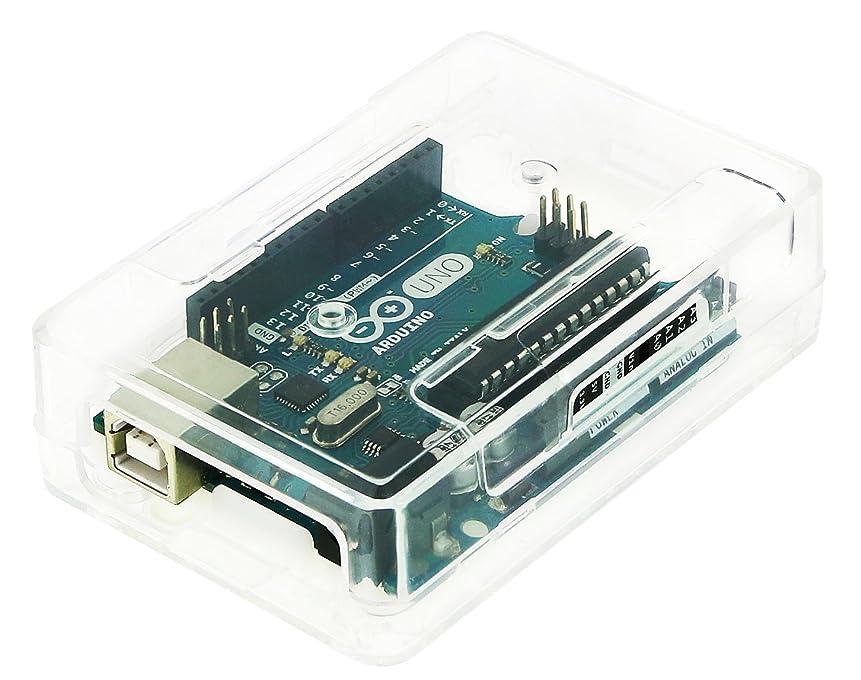 息を切らして現代海嶺Arduinoケース (Low, Clear)-3ple Decker