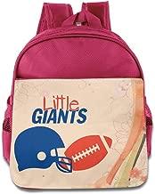 BestGifts Custom Cute Football Logo Kids Children School Backpack For 1-6 Years Old RoyalBlue