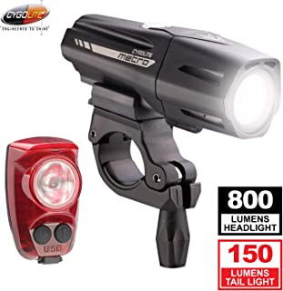 Cygolite Metro Plus 800 & Hotshot Pro 150 Bicycle Light Combo Set, Cygolite Metro Plus 800 & Hotshot Pro 150 USB Rechargea...
