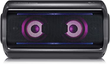 LG PK7 XBOOM Go Water-Resistant Wireless Bluetooth Party Speaker with Up To 22 Hours Playback - Black