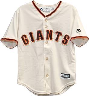 Majestic MLB San Francisco Giants Ivory Off White Baseball Jersey