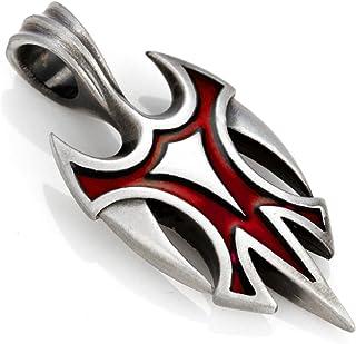 Bico Viking Pendant (B93) - high Risk high gain - Coloured Resin and Metal Tribal Street Jewelry