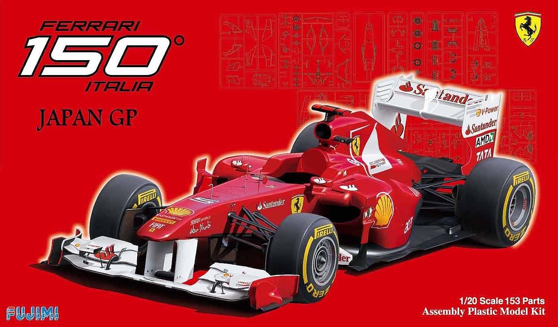 1 20 Grand Prix Series No.52 Ferrari 150 Italia Japan GP (japan import)