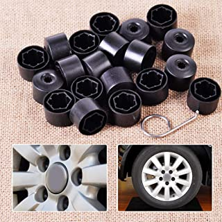 20Pcs/Lot Anti-Theft Wheel Lug Bolt Center Nut Covers Caps 1K0601173 For Volkswagen Jetta Golf Mk5 Passat Touran Polo