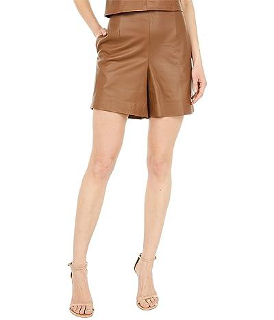 Vince Leather Shorts Women