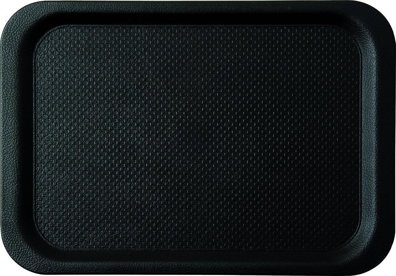 Plateau  noirline  noir en hermoplastique D   630 x 390 mm