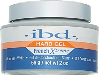 IBD Flase Nails Xtreme Builder Gel 39082, White, 2 Ounce